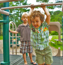 Boys on Playground